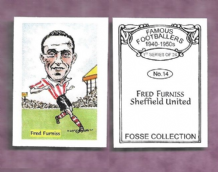 Sheffield United Fred Furniss 14 (FC)